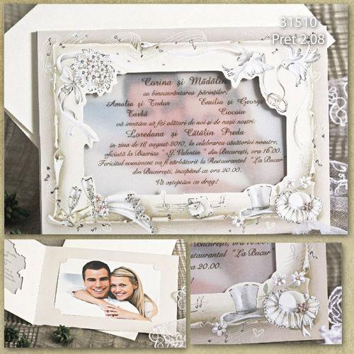 Invitatii Nunta Cu Fotografie Comunicate De Presa Gratuit