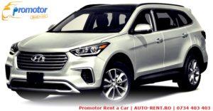 De ce sa alegi un Hyundai Santa Fe data viitoare cand inchiriezi o masina in Bucuresti de la Promotor Rent a Car