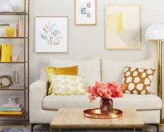 Living decorat in stil modern